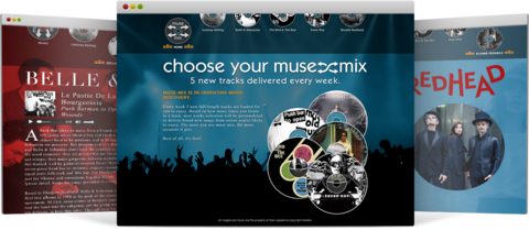 Muse Mix Site Preview