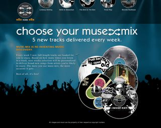 Muse Mix Homepage