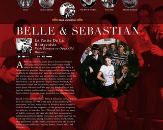 Muse Mix Belle & Sebastian Page