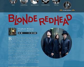 Muse Mix Blonde Redhead Page